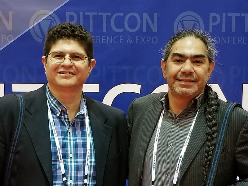 Jorge and Joseph at Pittcon